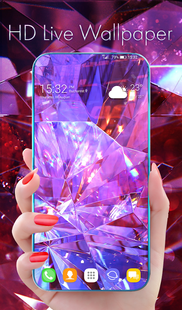 Screenshots - Diamond Wallpaper for Girls and Keyboard