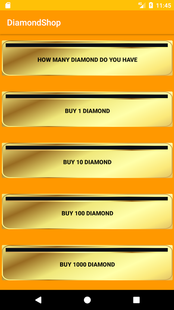 Screenshots - DiamondShop