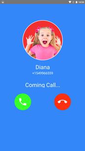 Screenshots - Diana and Roma Video Call