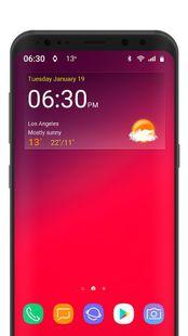 Screenshots - Digital clock weather theme 1