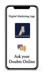 Screenshots - Digital Marketing App