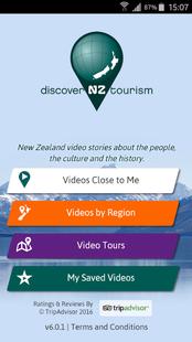 Screenshots - Discover New Zealand Tourism