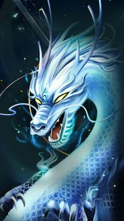 Screenshots - Divine Cool White Dragon-APUS Launcher theme