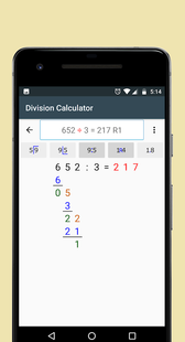 Screenshots - Division Calculator (With Remainders or Decimals)