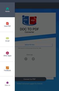 Screenshots - Doc to PDF Converter Pro