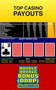 Screenshots - Double Double Bonus (DDBP) - Classic Video Poker