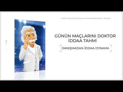 Video Image - Dr iddaa tahmin - Kazandıran banko maçlar