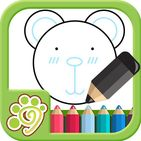 Draw by shape - easy drawing game for kids