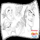 draw cartoon animation