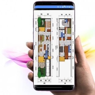 Screenshots - drawing from the architecture of the house