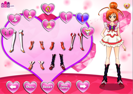 Screenshots - Dress Up Sailor Princess