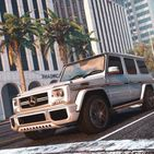 Driving Mercedes G65 SUV – City & Offroad