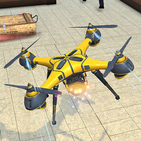 Drone Attack Flight Game 2020-New Spy Drone Games