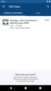 Screenshots - DSC 2020 Expo