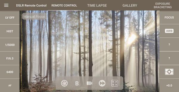 Screenshots - DSLR Camera Remote Control