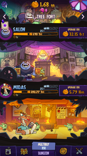 Screenshots - Dungeon, Inc.: Idle Clicker