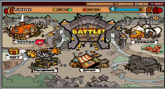Screenshots - Dungeon Rampage Remake (Beta)