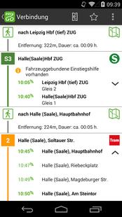 Screenshots - easy.GO - For bus, train & Co.