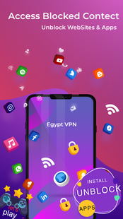 Screenshots - Egypt VPN - Free VPN Proxy Server & Secure Service