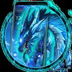 Electronic Neon Dragon