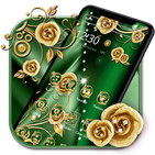 Elegant Gold Flower Theme🏵️