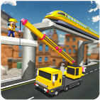 Elevated Train Track Builder : Subway Craft 2020