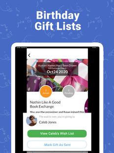 Screenshots - Elfster: Secret Santa & Shareable Wish List App