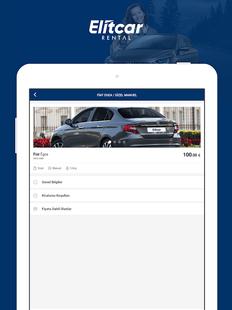 Screenshots - Elitcar Rental - Rent A Car