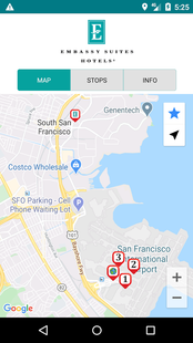 Screenshots - Embassy SFO Airport Shuttles