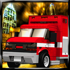Emergency Alert Fire Truck