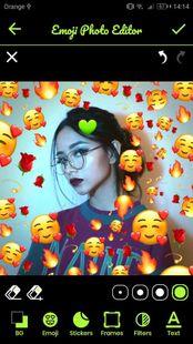 Screenshots - Emoji 💚 Backgrounds Photo Editor