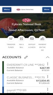 Screenshots - ENB Mobile Banking
