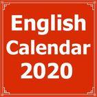 English Calendar 2020
