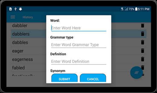 Screenshots - English Dictionary