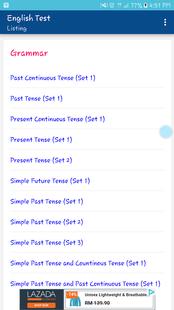 Screenshots - English Test