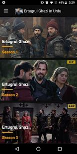 Screenshots - Ertugrul Ghazi in Urdu