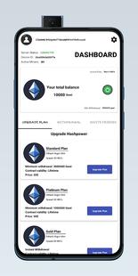 Screenshots - Ethereum Pool - Cloud Mining Servers