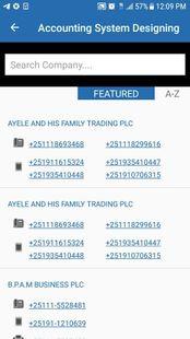 Screenshots - Ethiopia National Information & Business Directory