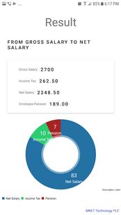 Screenshots - Ethiopian Salary Tax Calculator