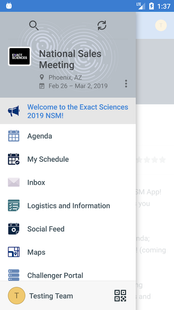 Screenshots - Exact Sciences