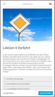Screenshots - Fahrschulcard