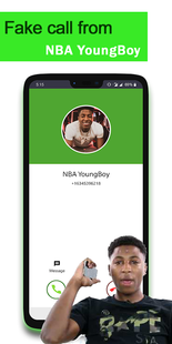 Screenshots - Fake call from NBA YoungBoy