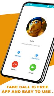Screenshots - Fake Call Jeffy - video call