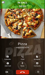 Screenshots - Fake Call With Pizza Prank