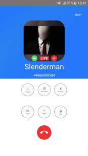 Screenshots - Fake Creepypasta Call Video : Call Slenderman