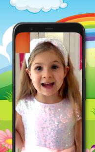 Screenshots - fake video call diana