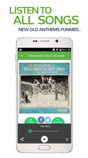 Screenshots - FanChants: Manchester City Fans Songs & Chants