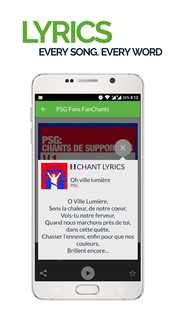 Screenshots - FanChants: PSG Fans Songs & Chants