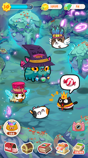 Screenshots - Fancy Cats - Cute cats dress up and match 3 puzzle