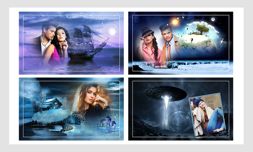 Screenshots - Fantasy photo frames